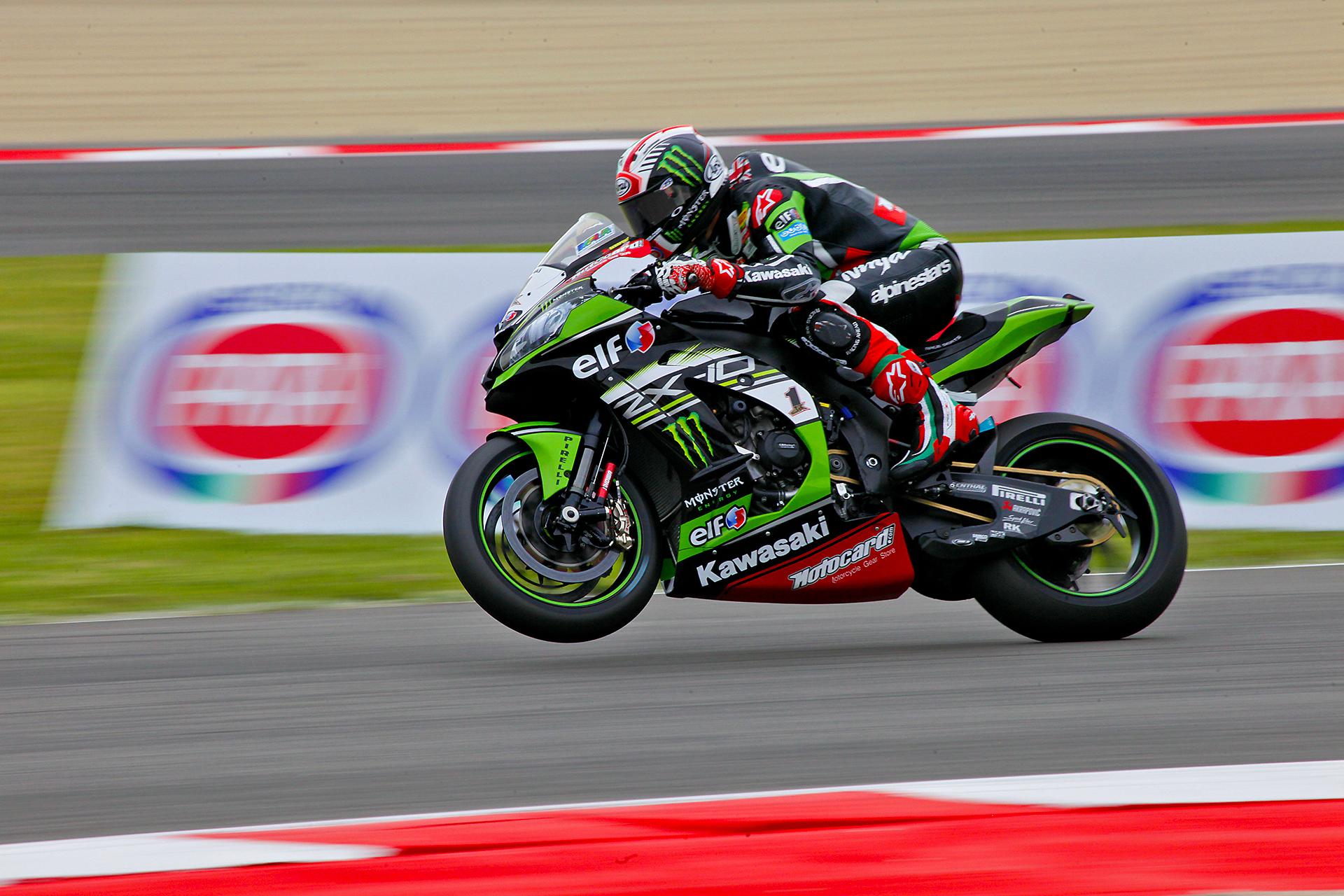 Jonathan Rea. Kawasaki Factory Racing.Superbike Corld Championship