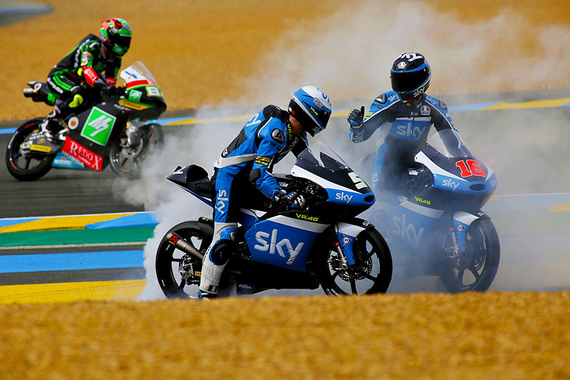 Romano Fenati -Andrea Migno Sky Racing Team