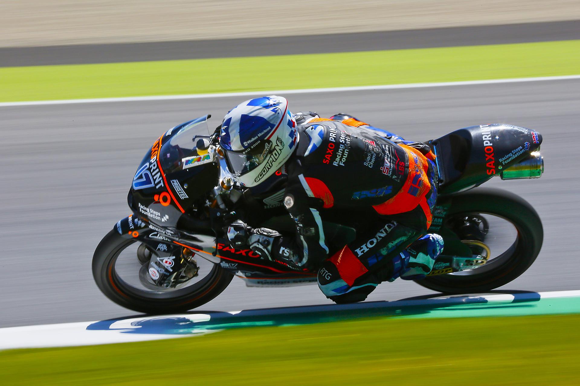 John Mcphee Moto3 World Championship.