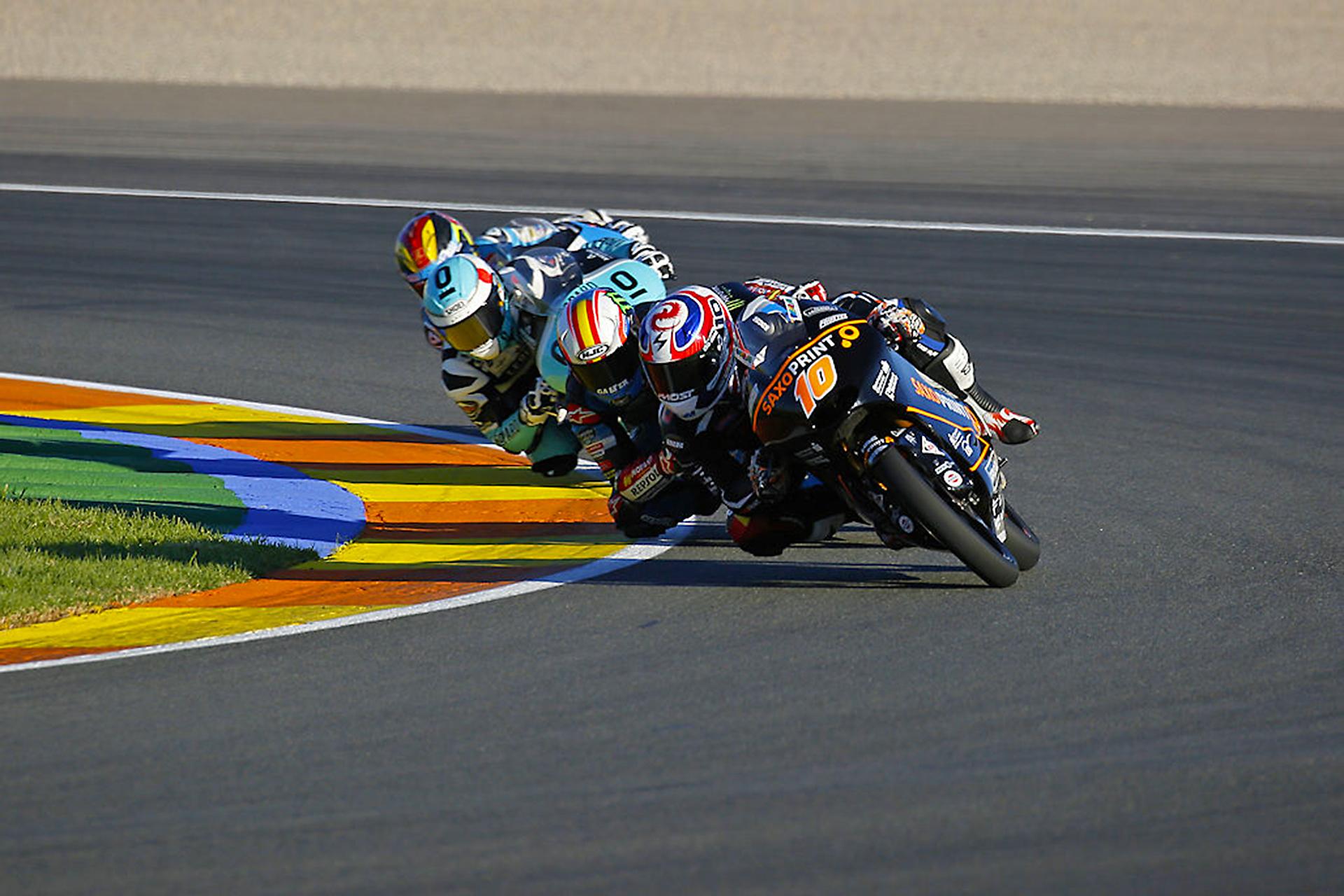 World Championship Moto3 Valencia Circuit