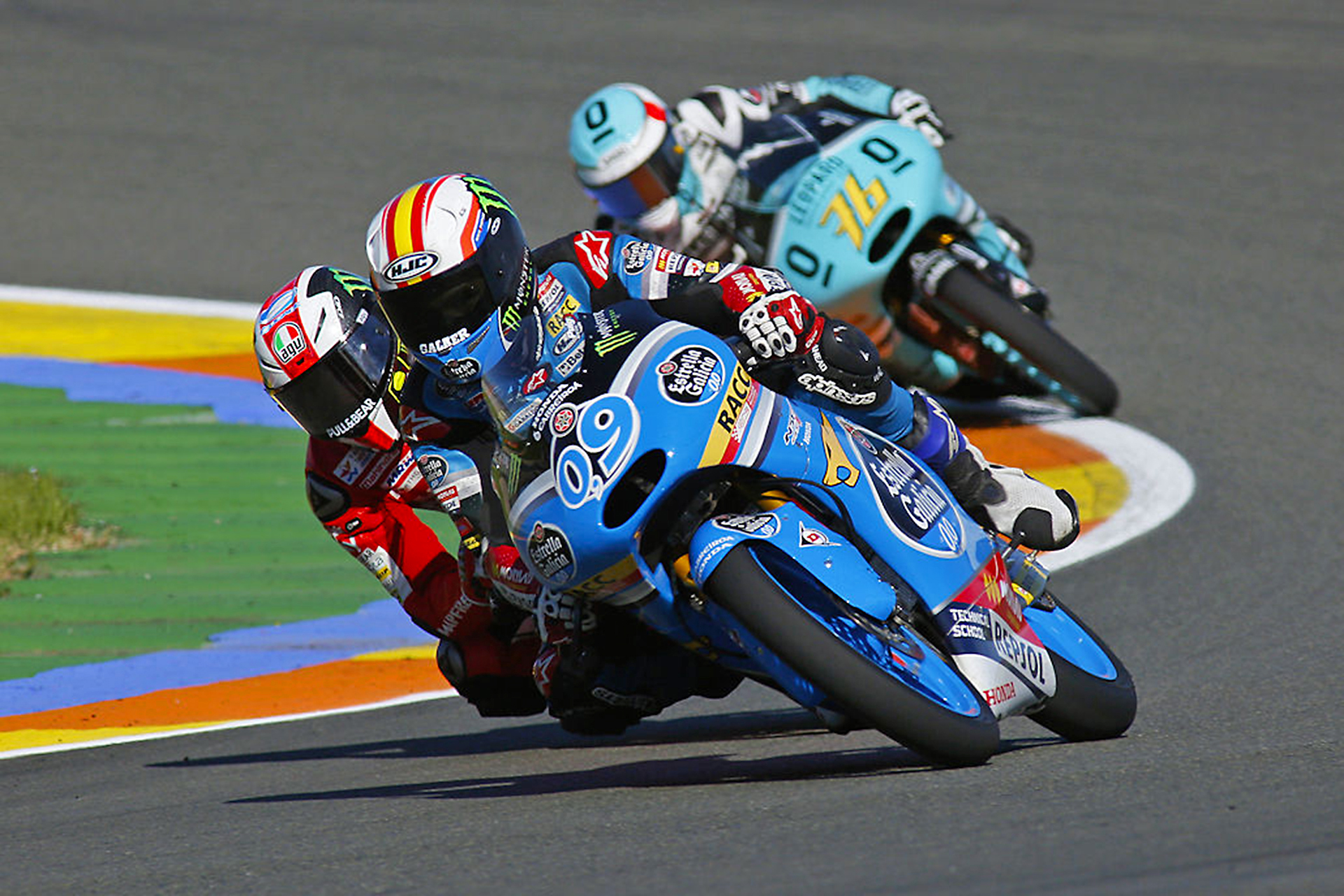 World Championship Moto3 at the Valencia Circuit