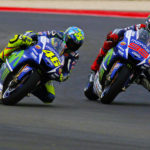 Images Overtaking Valentino Rossi team-mate Jorge Lorenzo Photos Realizate Roberto Magni And Daniela Comi Photographers and Journalists By Foto ReD Photographic Agency MotoGP