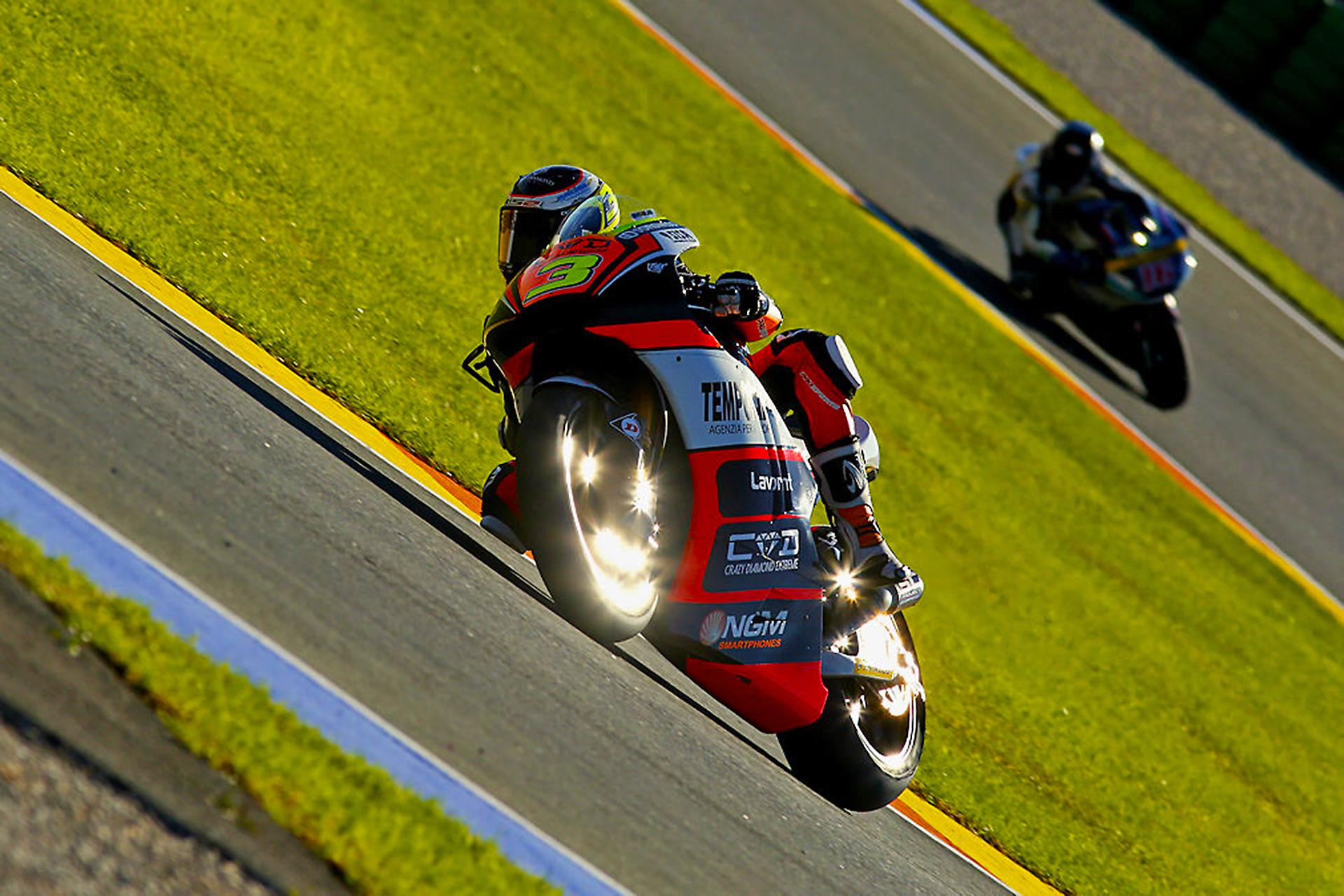 Simone Corsi Moto2 World Championship